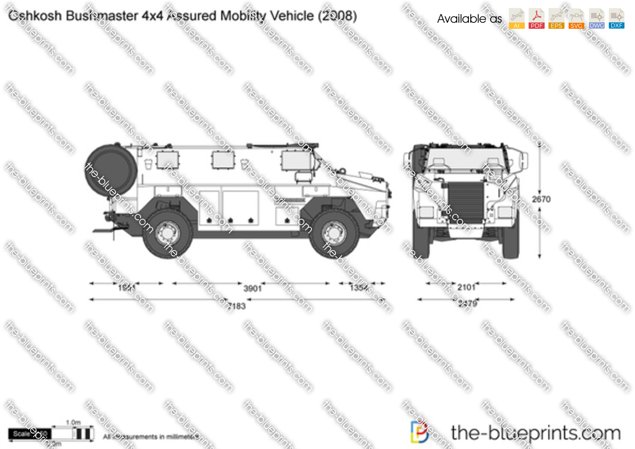 Oshkosh Bushmaster 4x4 Assured Mobility Vehicle