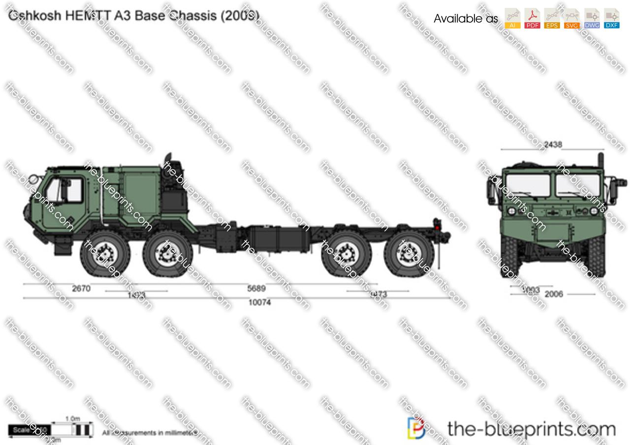 Oshkosh HEMTT A3 Base Chassis