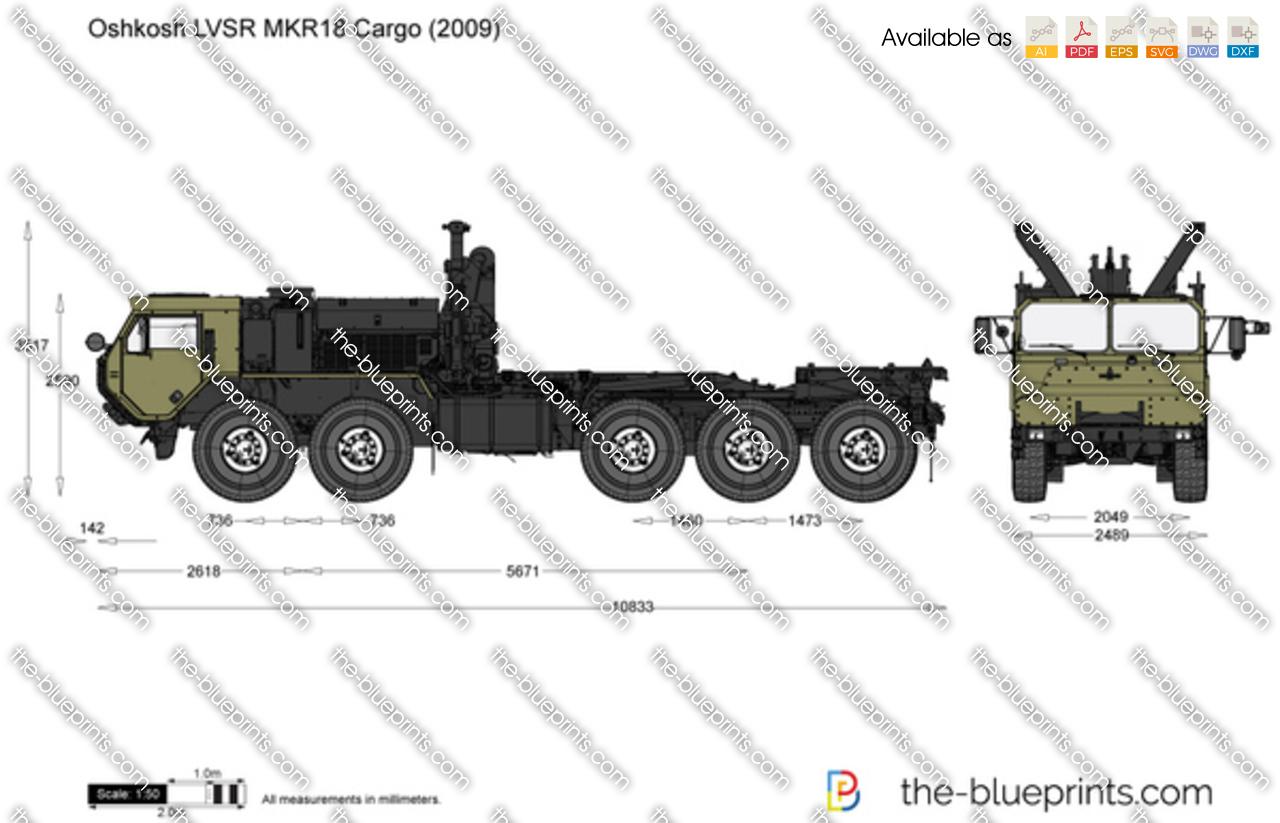 Oshkosh LVSR MKR18 Cargo