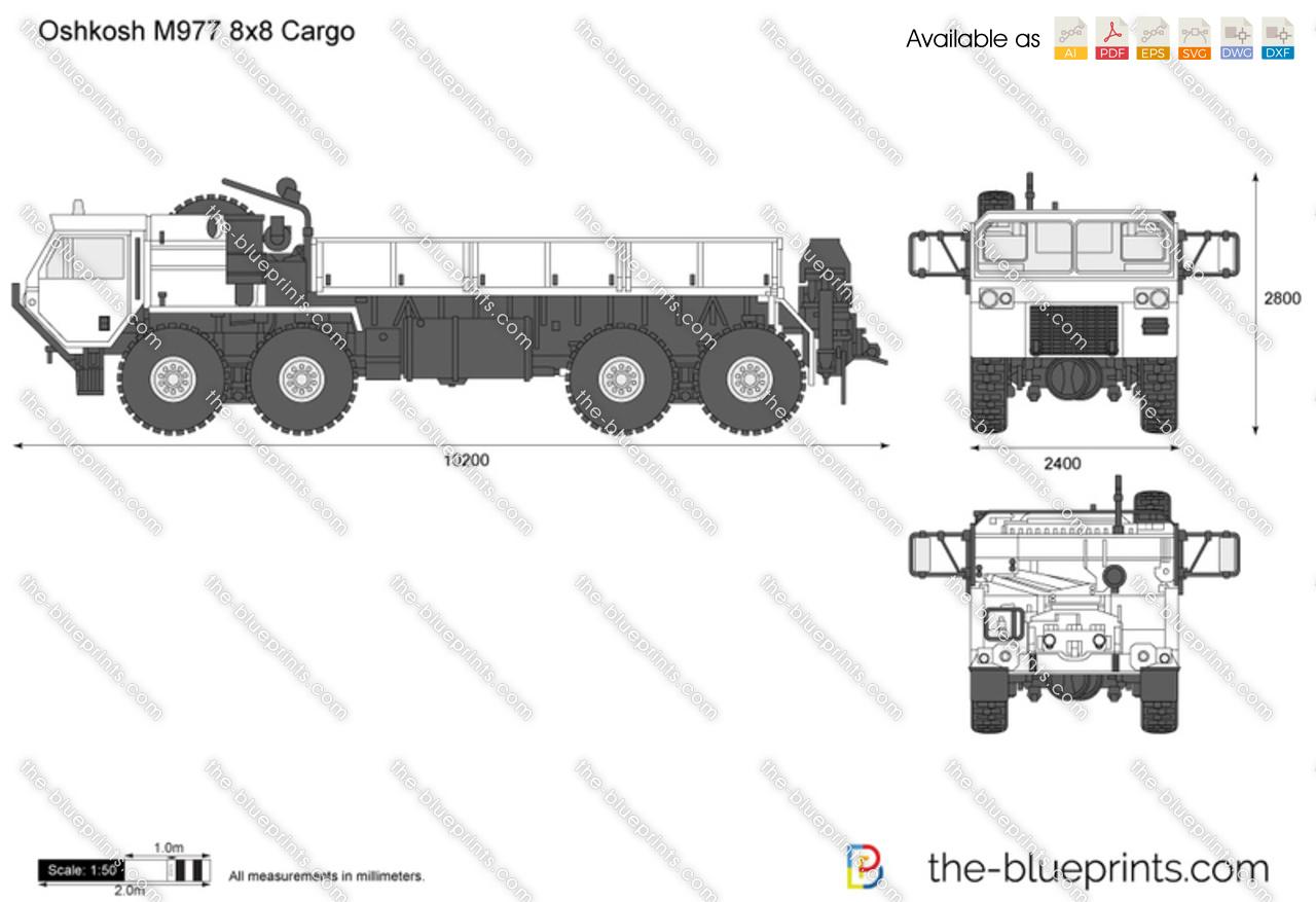 Oshkosh M977 8x8 Cargo
