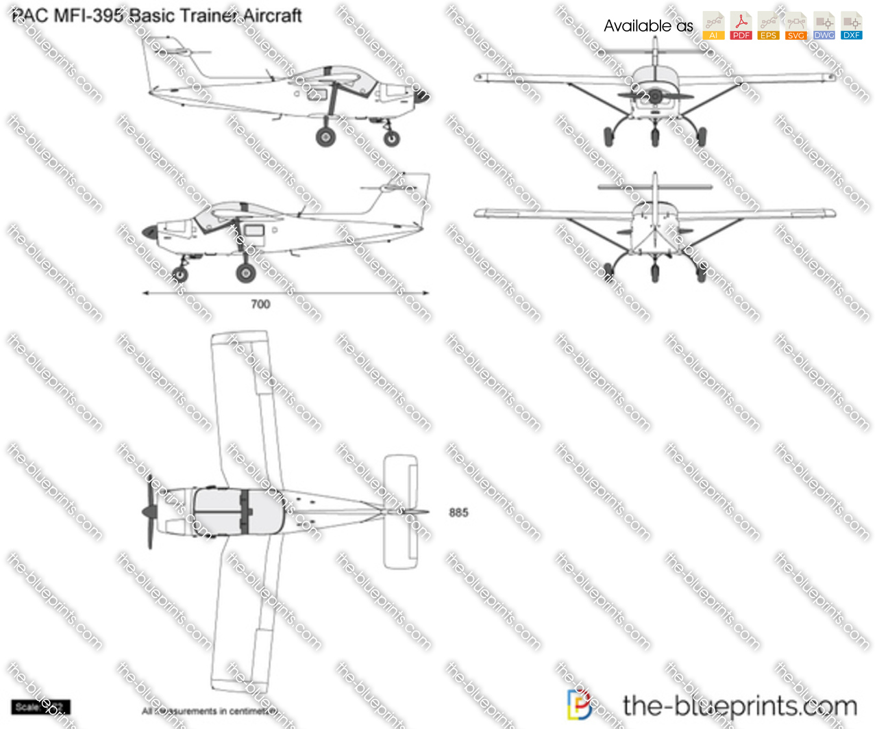 PAC MFI-395 Basic Trainer Aircraft