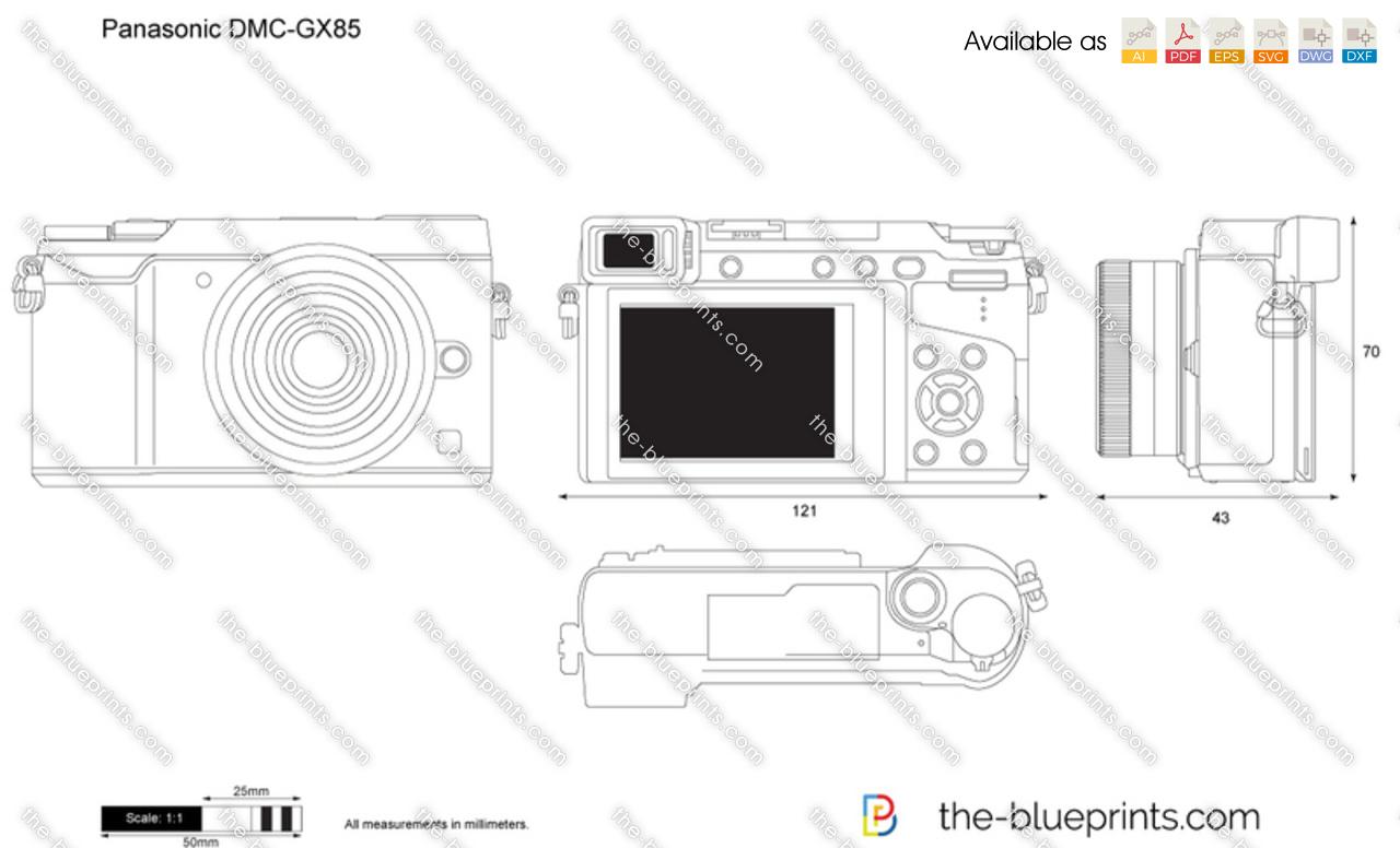 Panasonic DMC-GX85