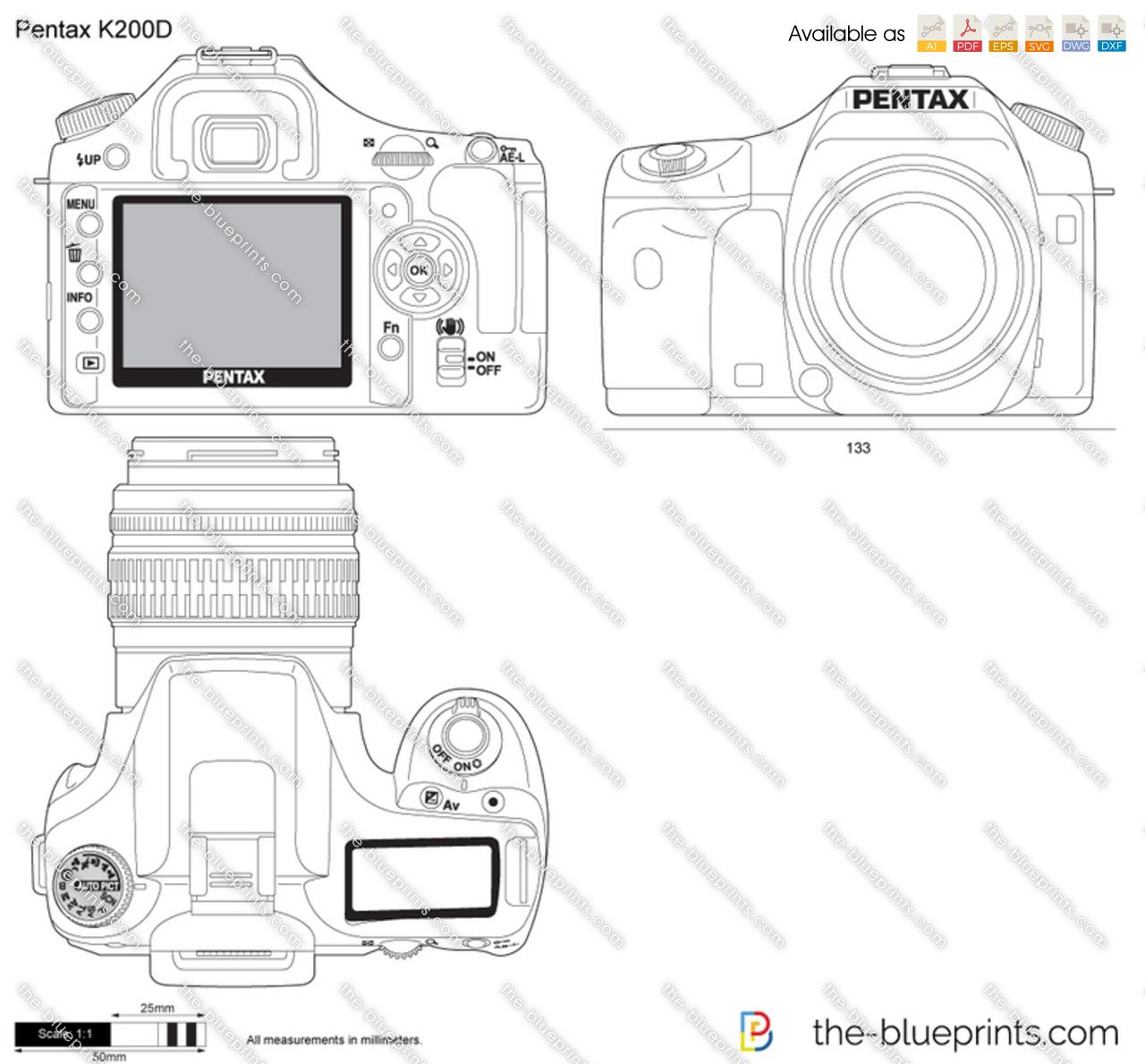 Pentax K200D