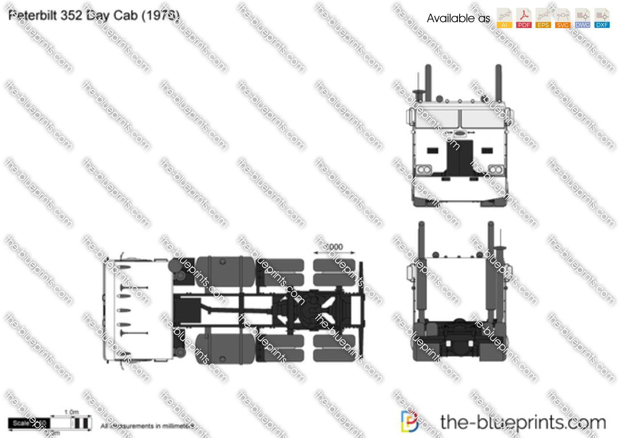 Peterbilt 352 Day Cab