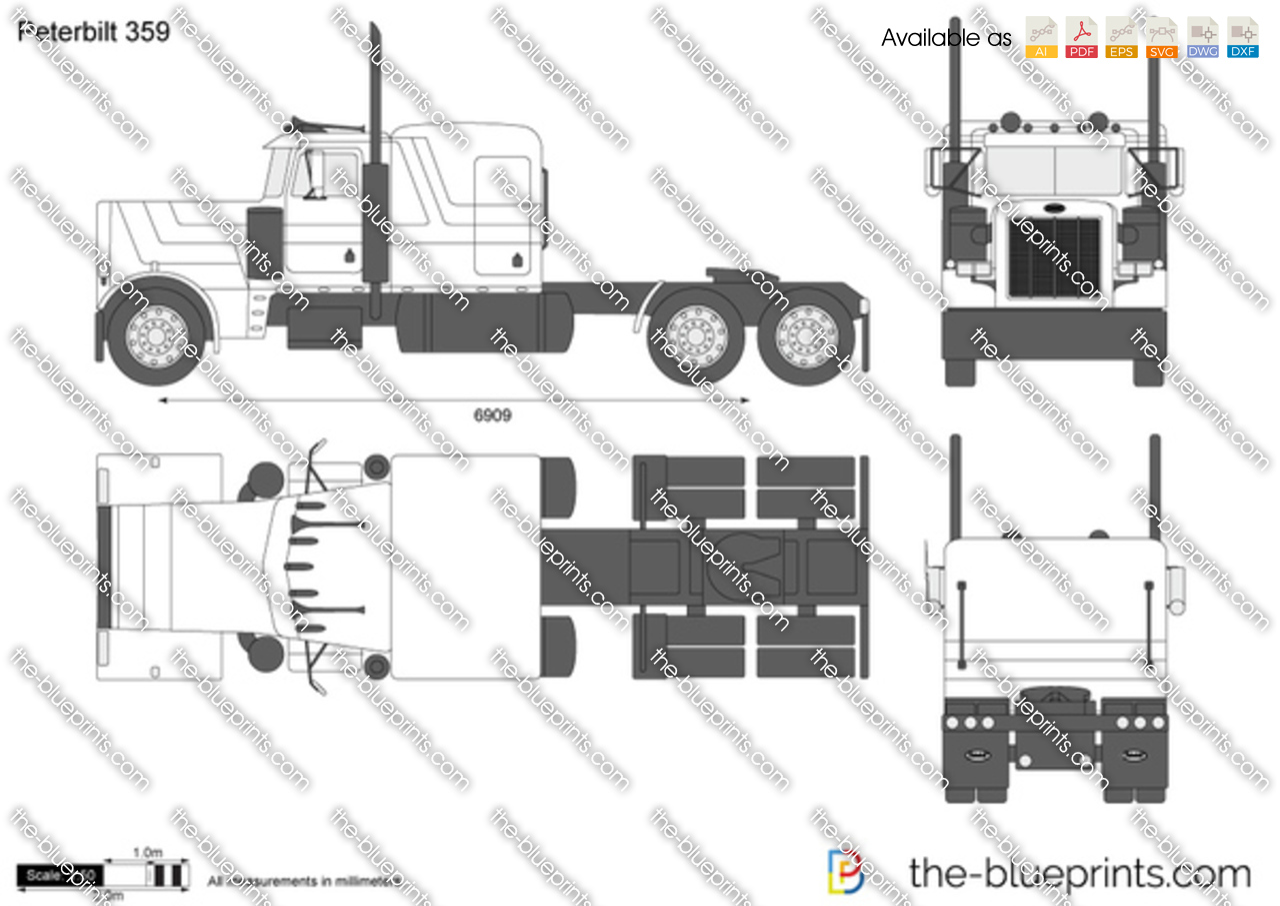 Peterbilt Body Diagram Ask Answer Wiring Truck Blueprints U003e Trucks 359 Rh The Com