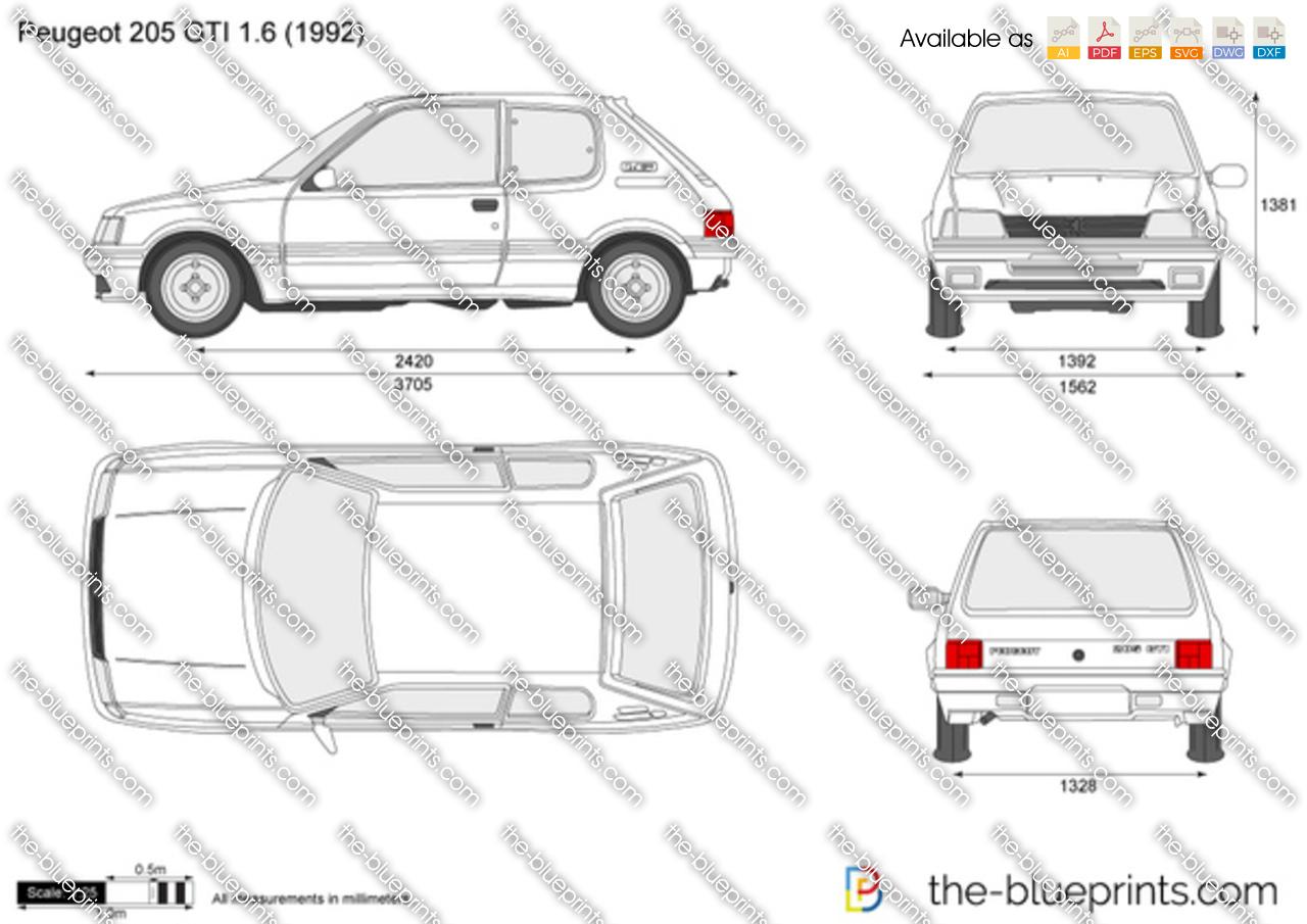 Peugeot 205 GTI 1.6