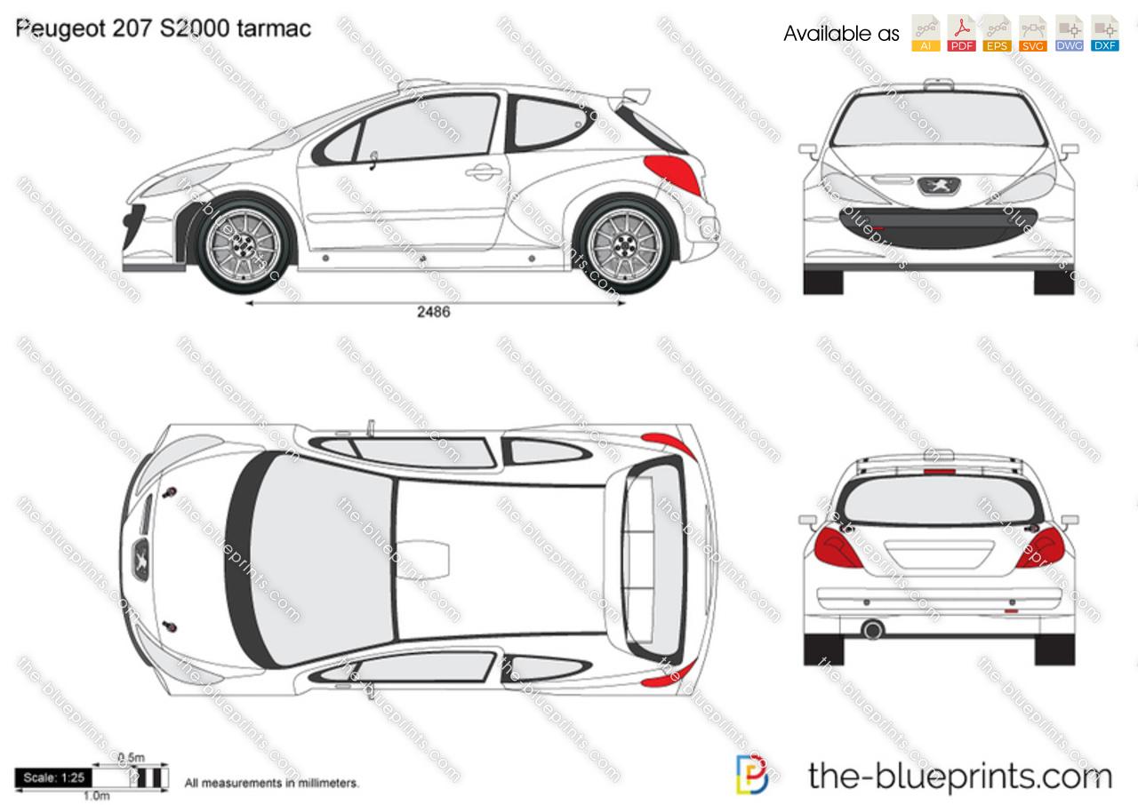 Peugeot 207 S2000 tarmac