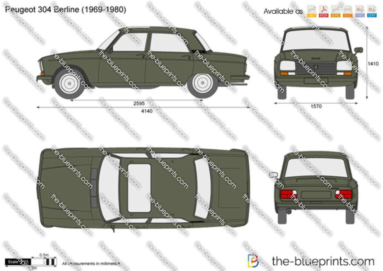 Peugeot 304 Berline