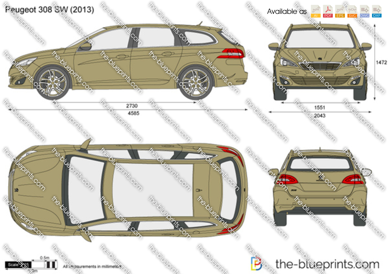 Peugeot 308 SW 2016