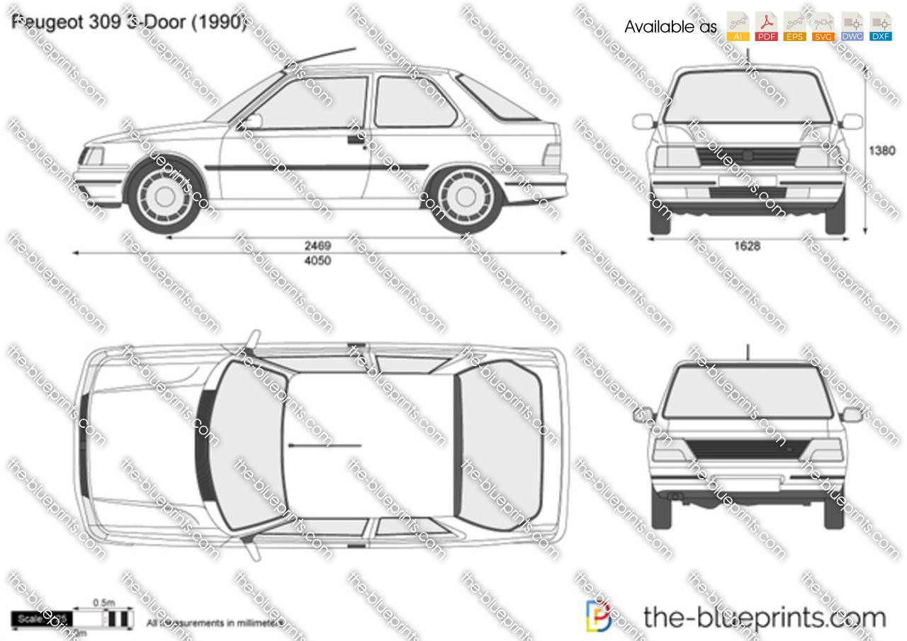 Peugeot 309 3-Door