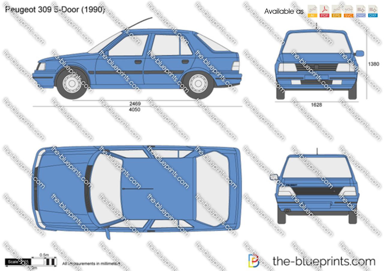 Peugeot 309 5-Door