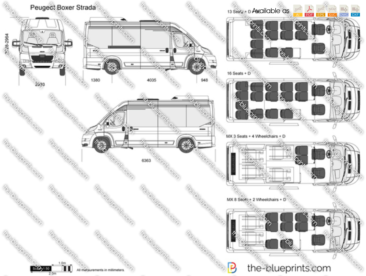 promaster dimensions drawings autos post. Black Bedroom Furniture Sets. Home Design Ideas