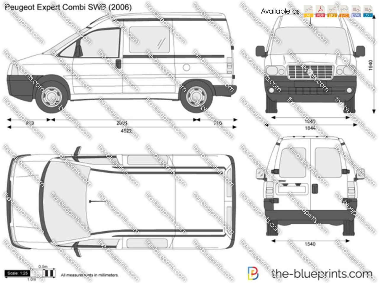 Peugeot Expert Combi SWB