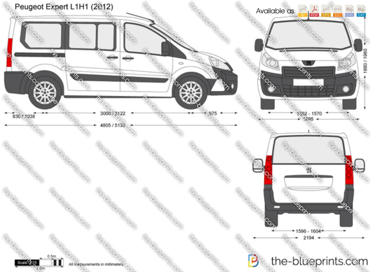 Peugeot Expert L1H1 2014