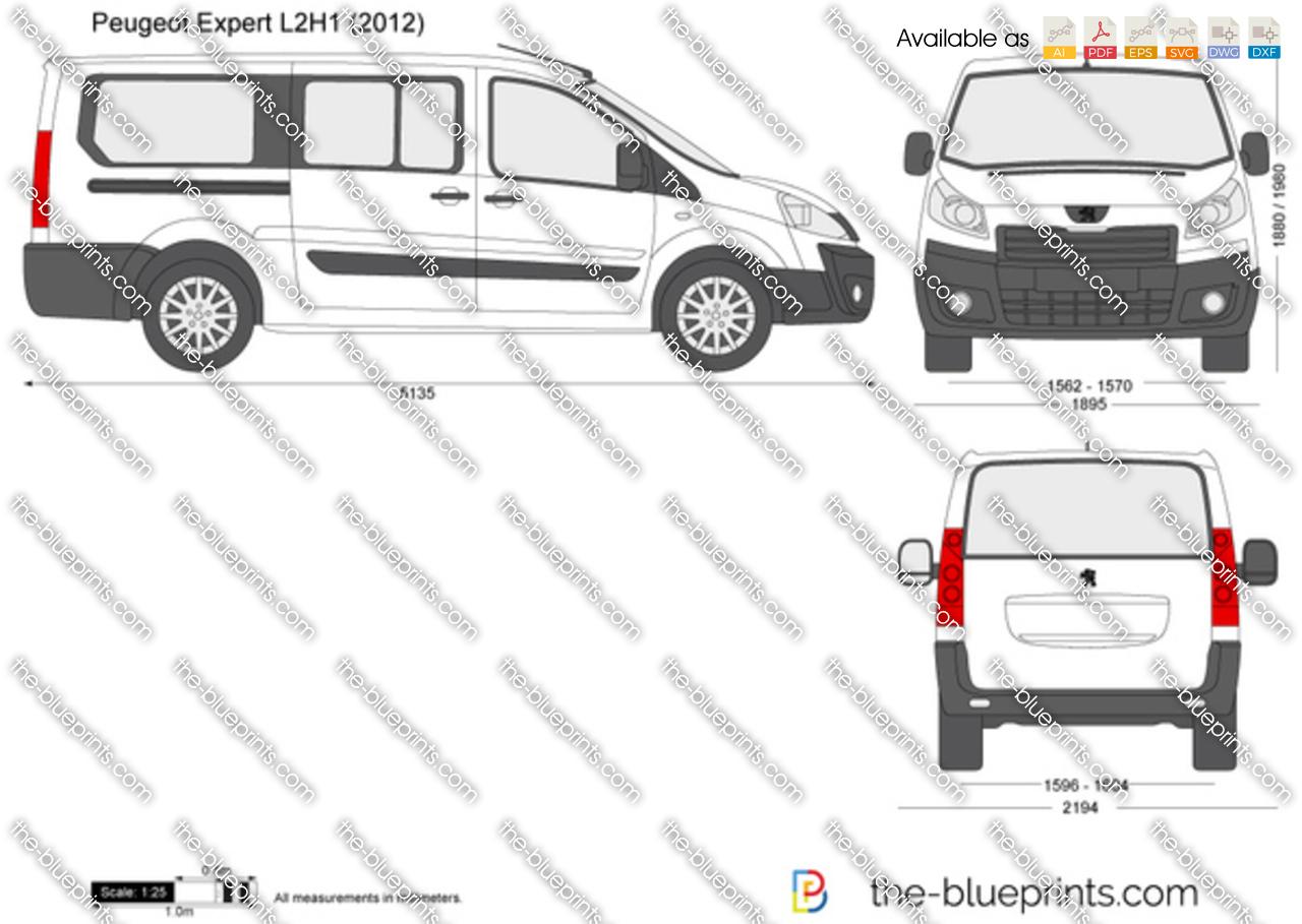 Peugeot Expert L2H1 2014