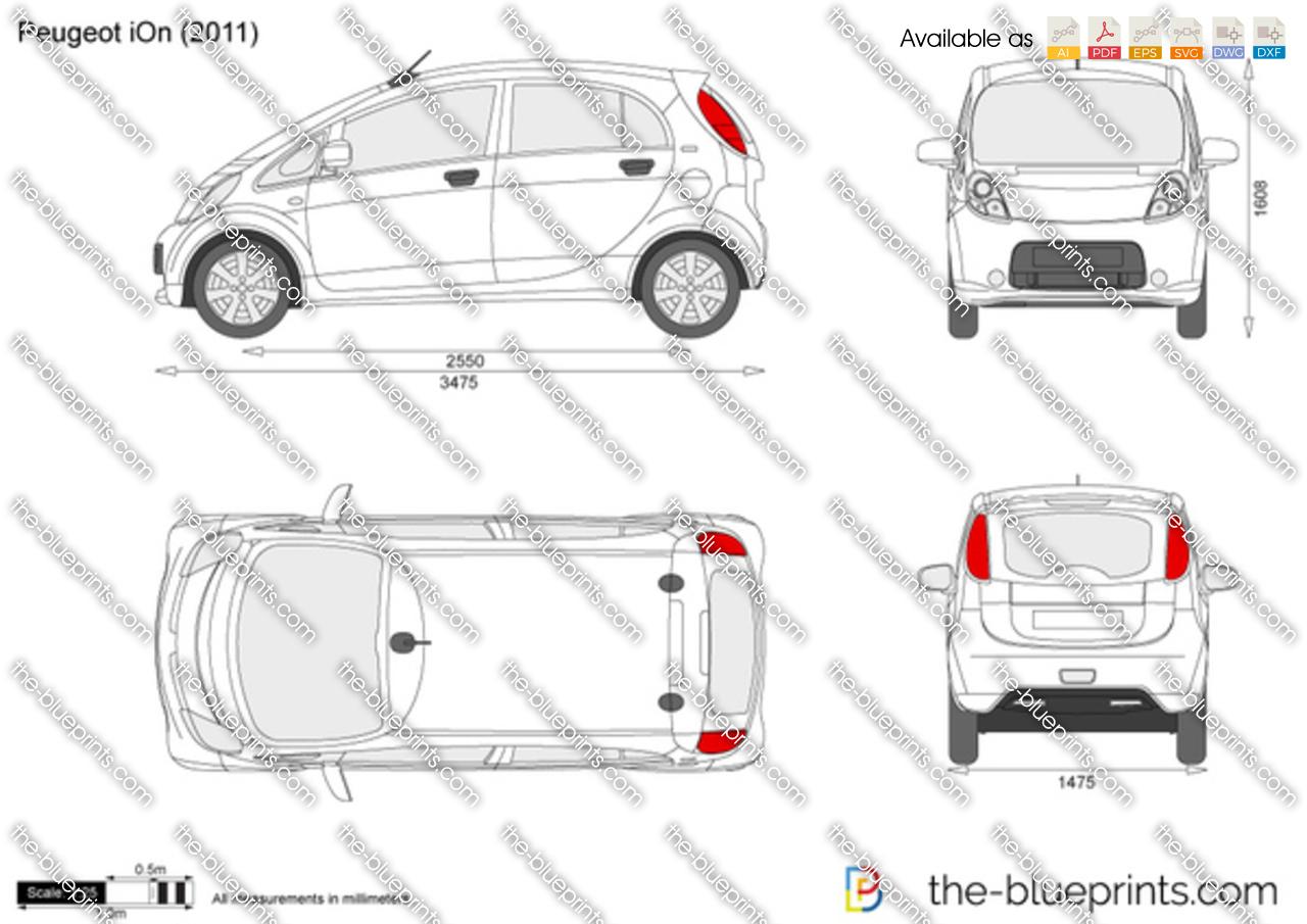 Peugeot iOn 2012