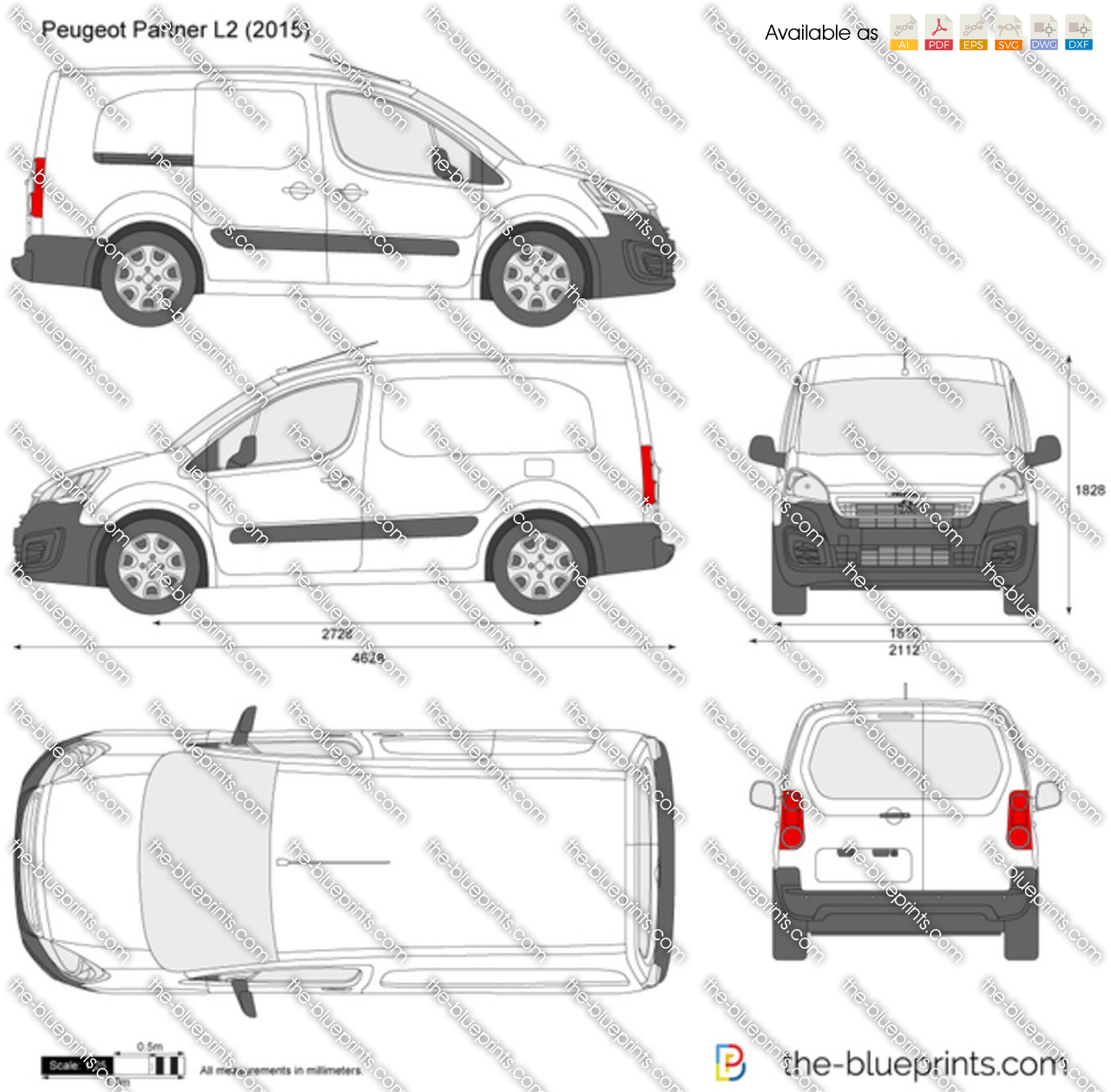Peugeot Partner L2 2016