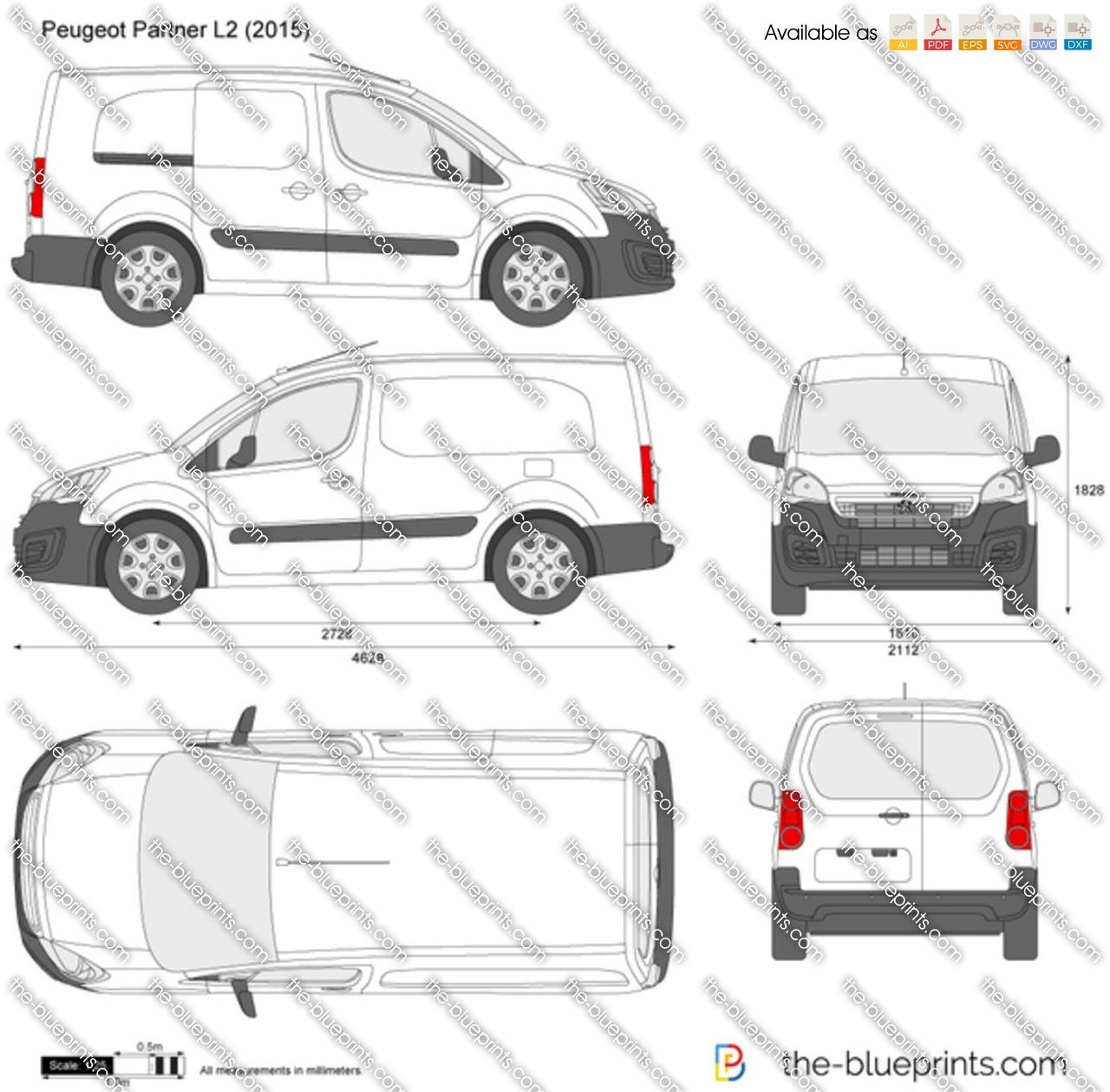 Peugeot Partner L2 2017