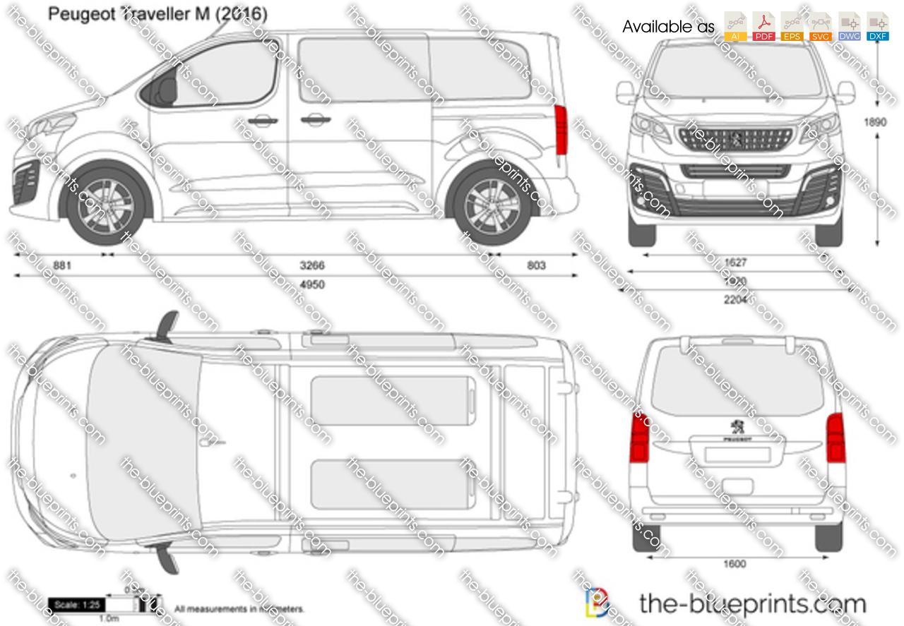 Peugeot Traveller M 2017