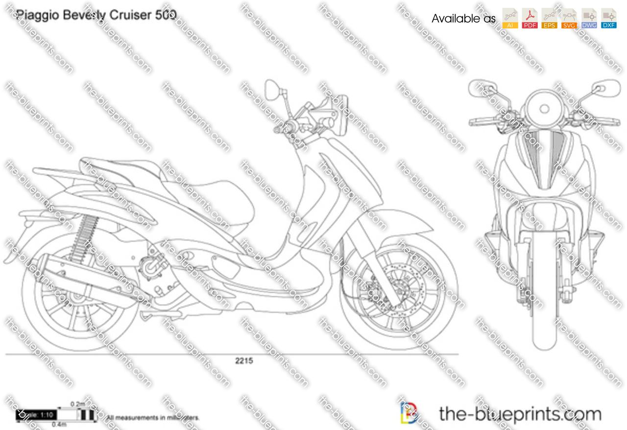 Piaggio Beverly Cruiser 500 2016