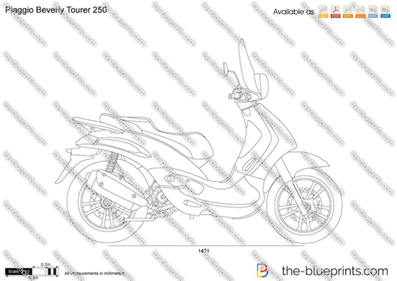 Piaggio Beverly Tourer 250 2012
