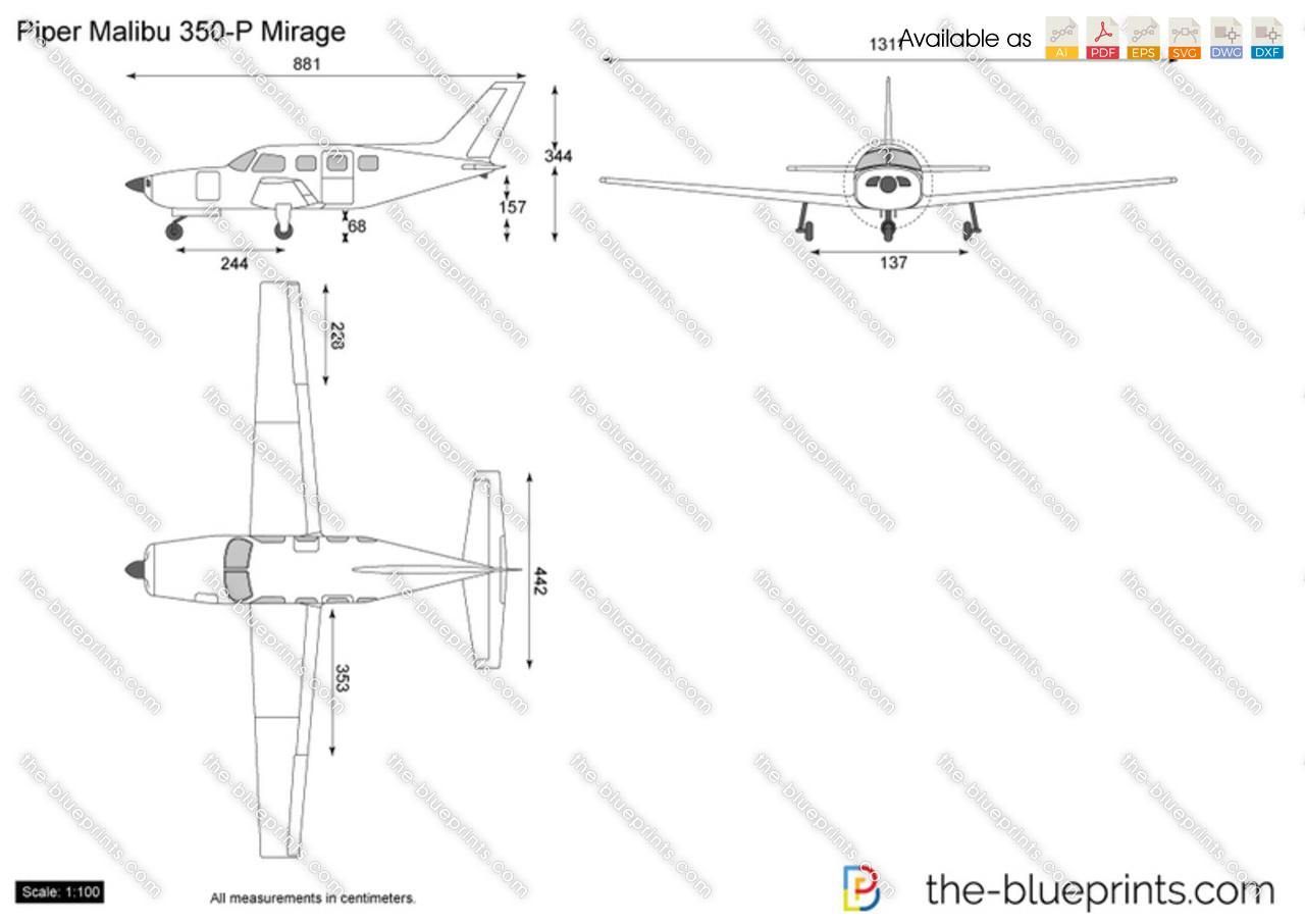 Piper Malibu 350-P Mirage
