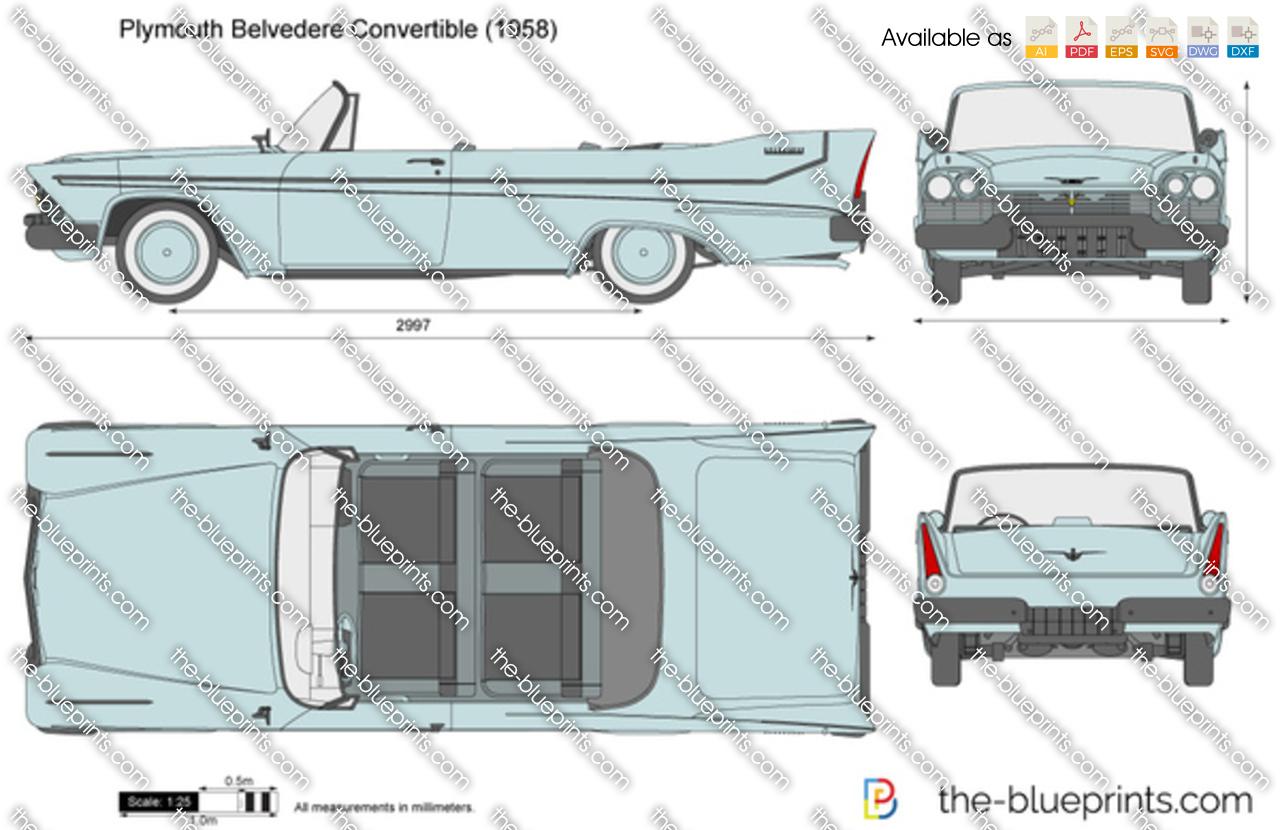 Plymouth Belvedere Convertible