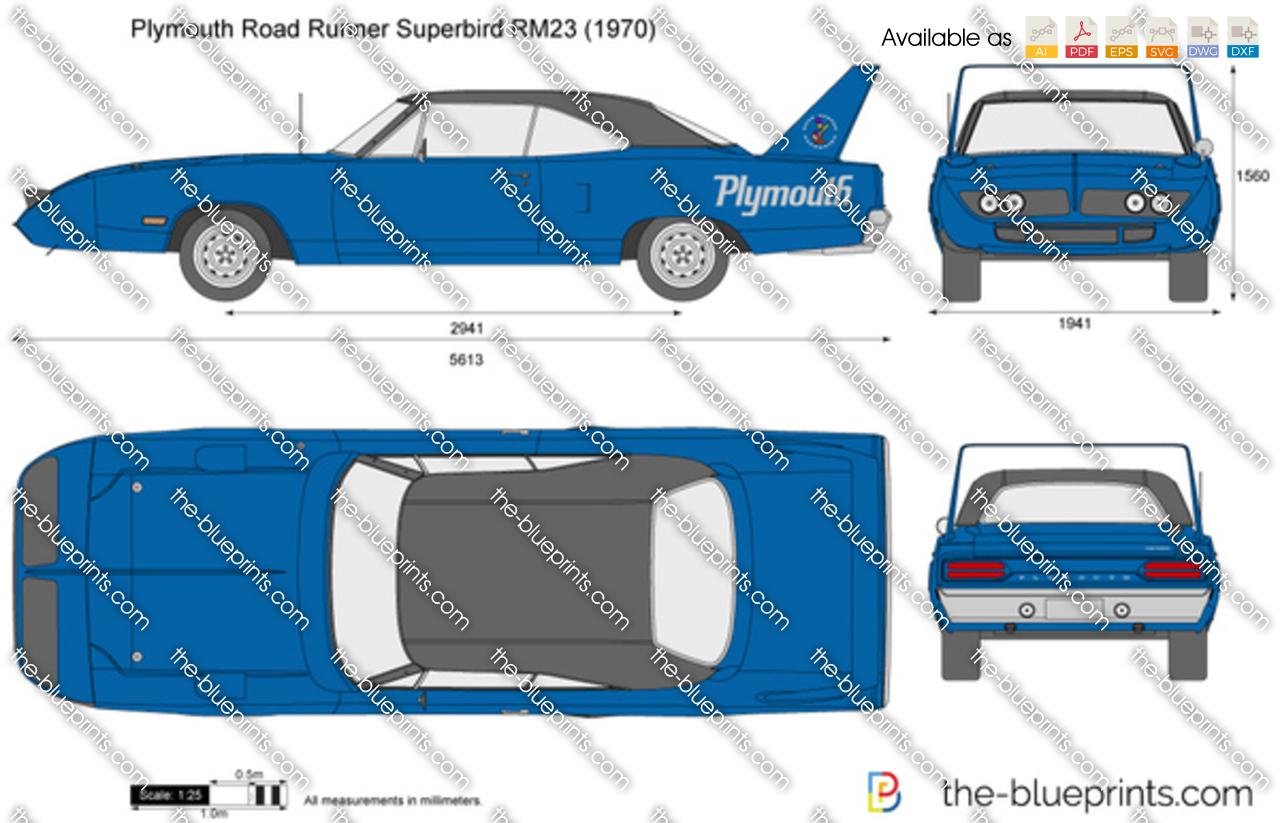 Plymouth Road Runner Superbird RM23