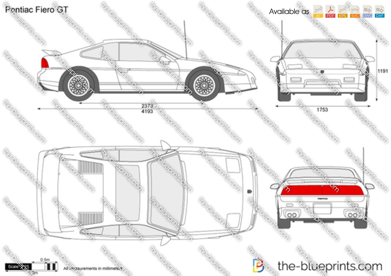 Pontiac Fiero GT 1988
