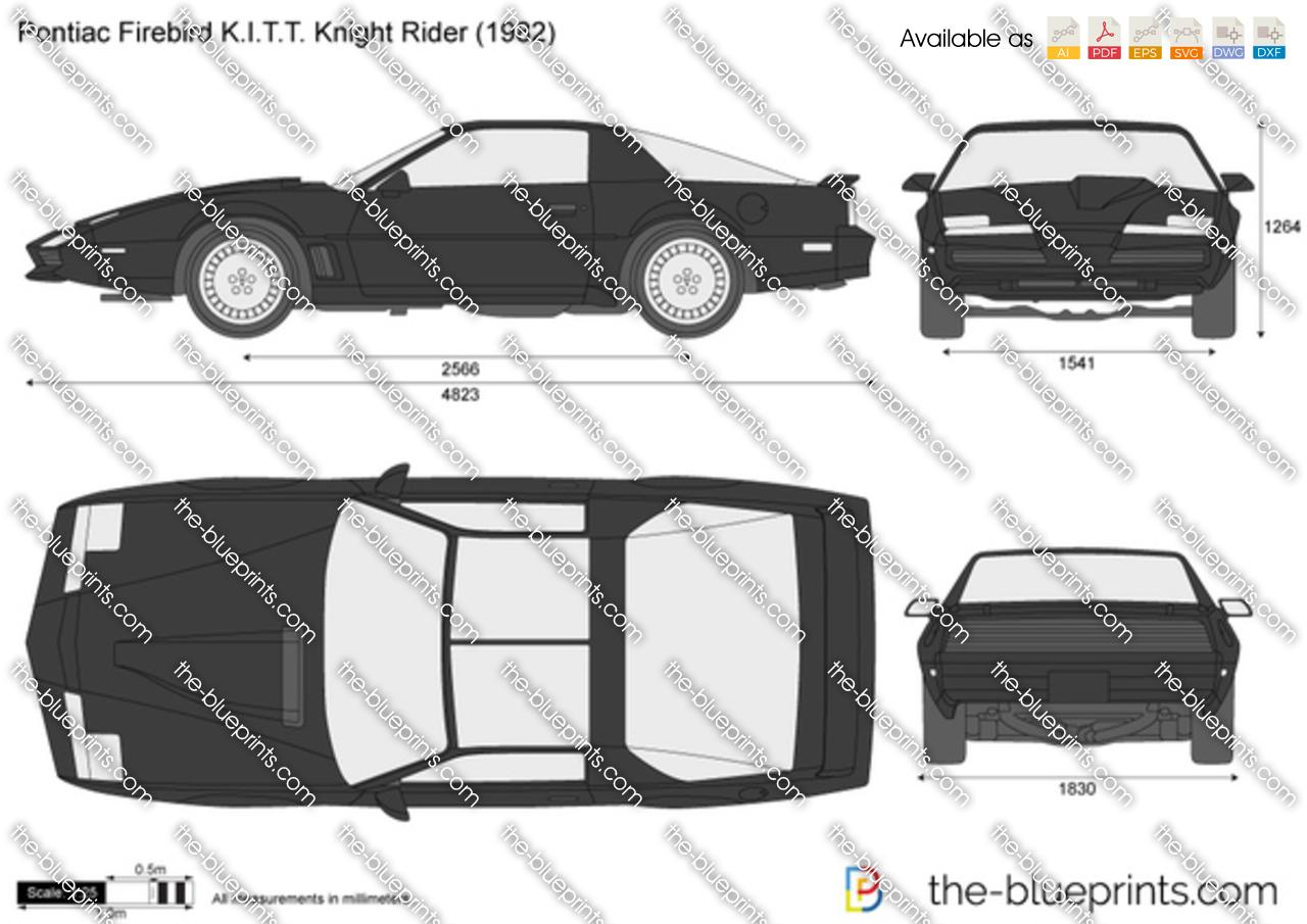 Pontiac Firebird KITT Knight Rider 1986