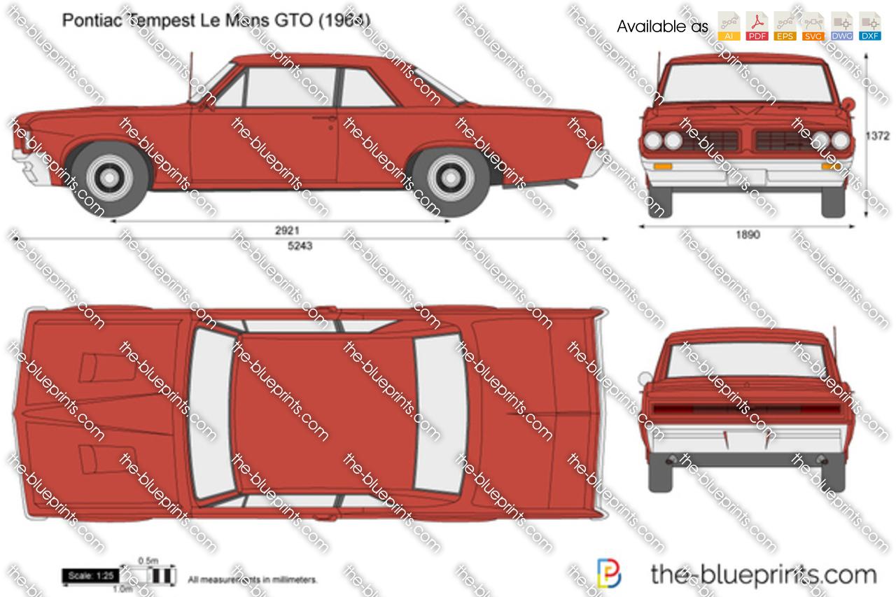 Pontiac Tempest Le Mans GTO 1965