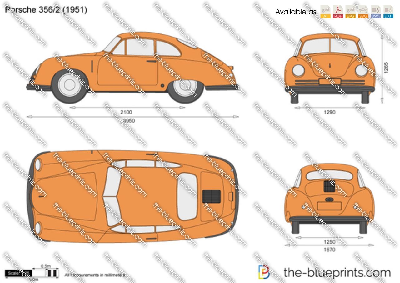 Porsche 356/2 1950