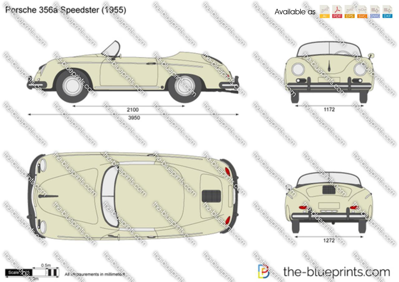 Porsche 356a Speedster 1954