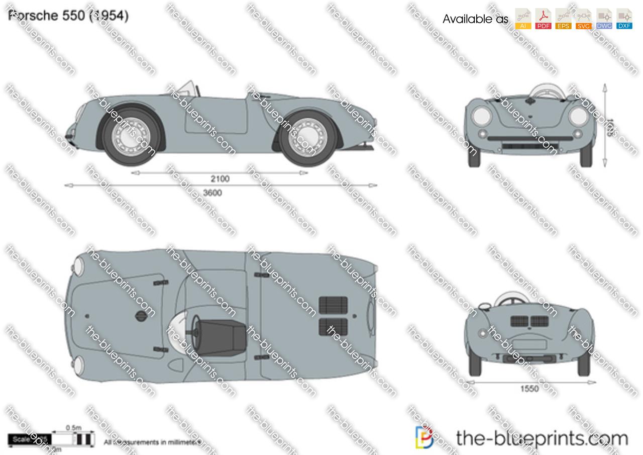 Porsche 550 1955