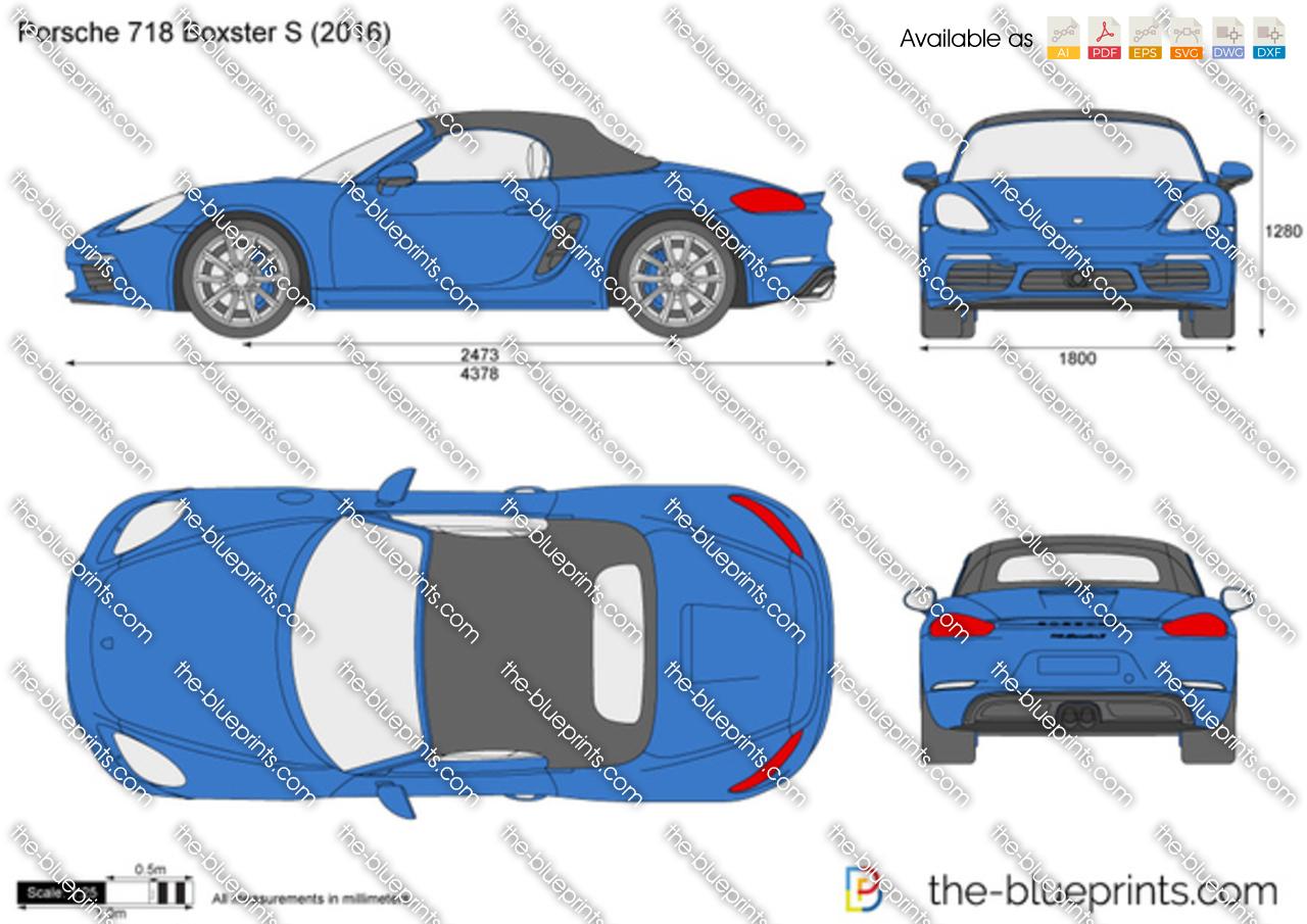 Porsche 718 Boxster S 2018