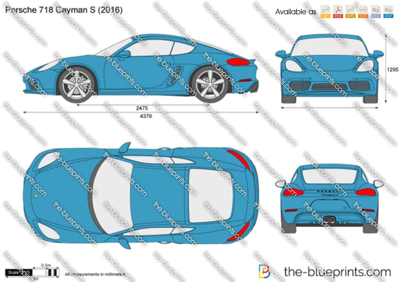 Porsche 718 Cayman S 2018