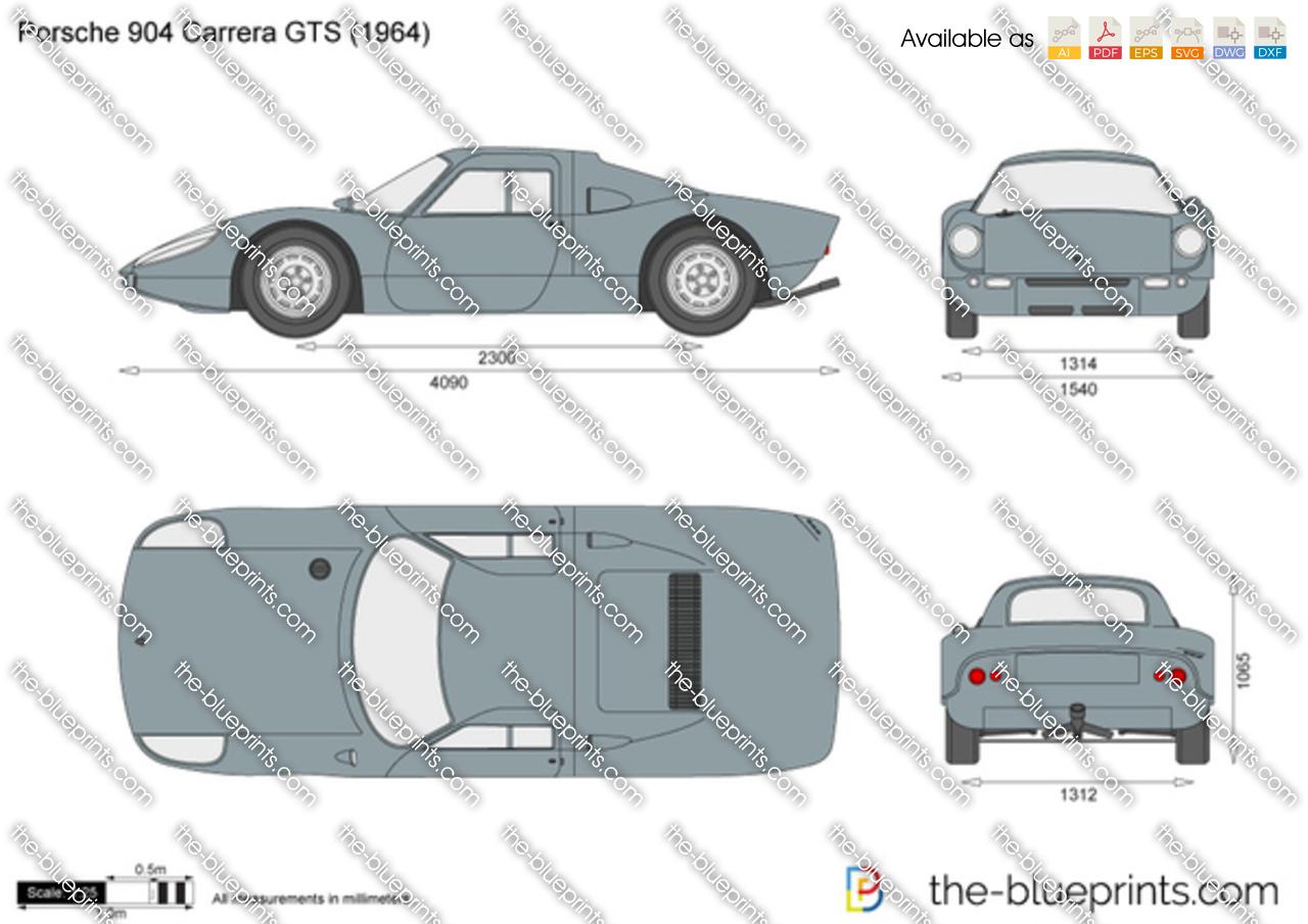 Porsche 904 Carrera GTS 1965