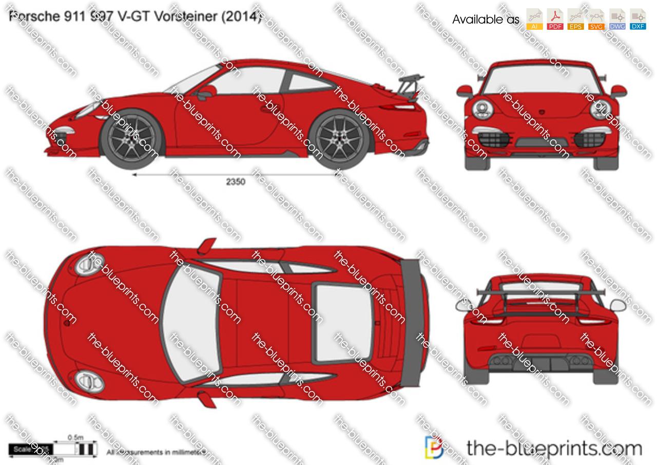 Porsche 911 997 V-GT Vorsteiner