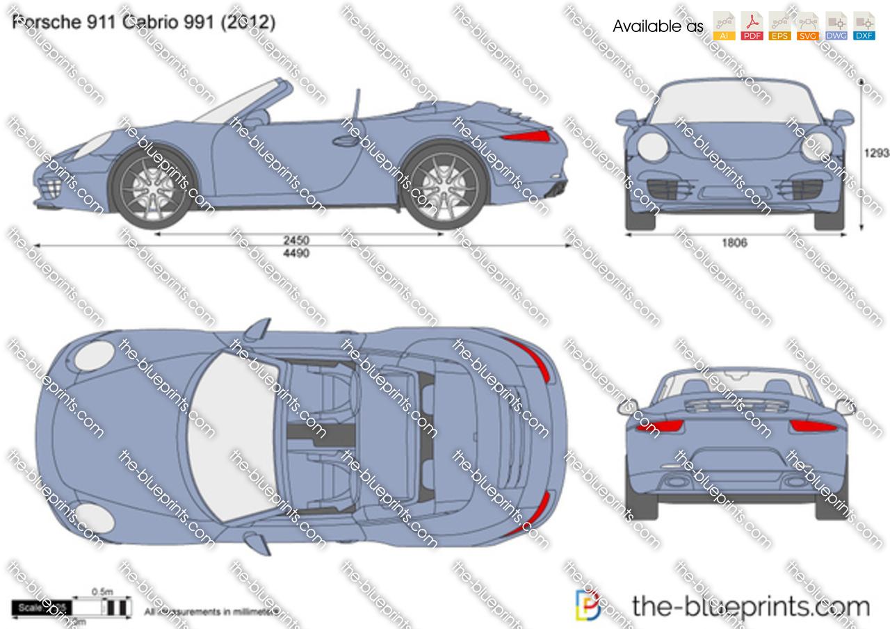 Porsche 911 Cabrio 991 2013