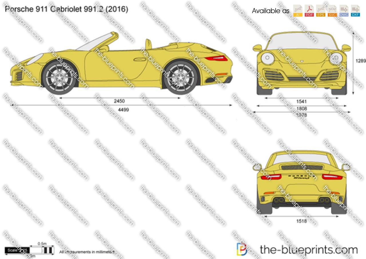 Porsche 911 Cabriolet 991.2 2017