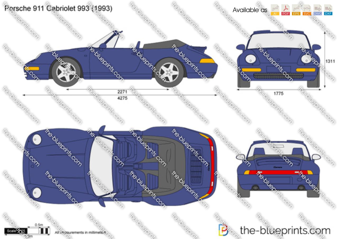 Porsche 911 Cabriolet 993 1995