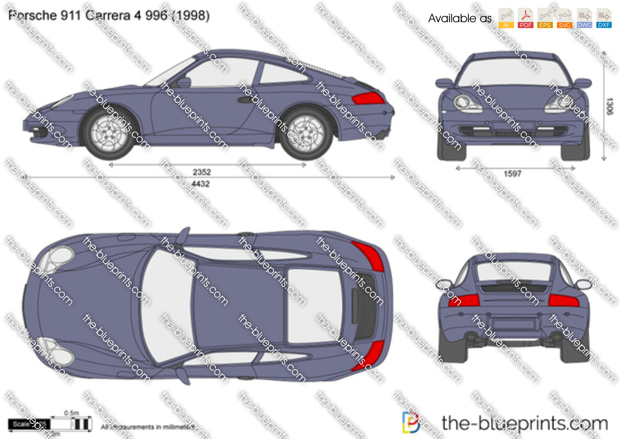 Porsche 911 Carrera 4 996 2001