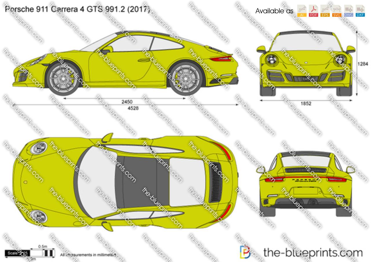 Porsche 911 Carrera 4 GTS 991.2 2018