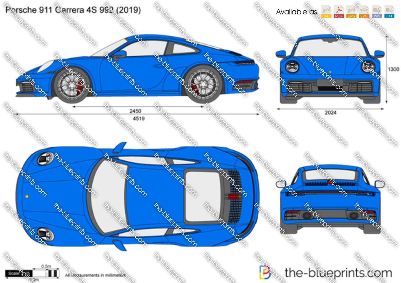 Porsche 911 Carrera 4S 992