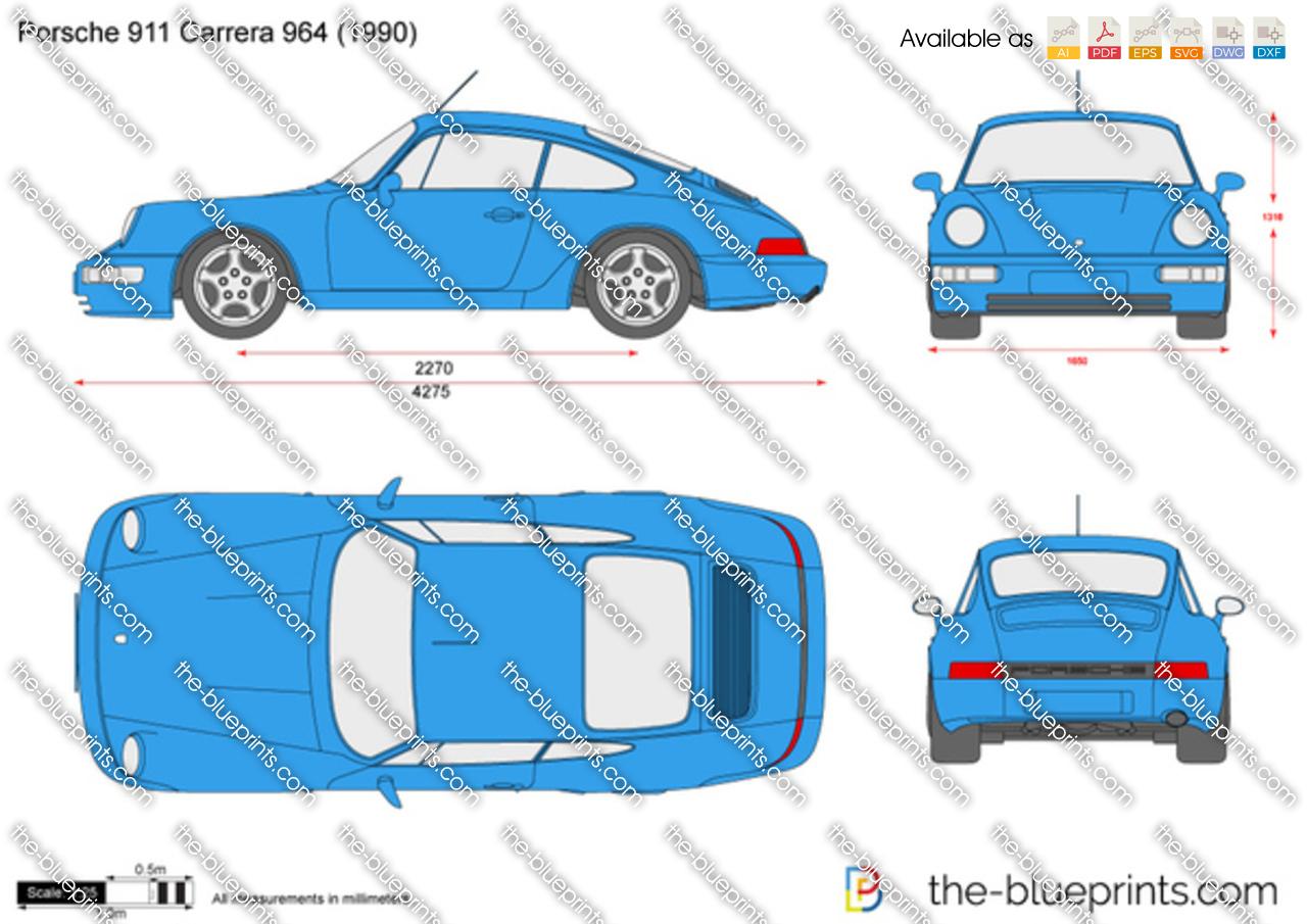 Porsche 911 Carrera 964 1989