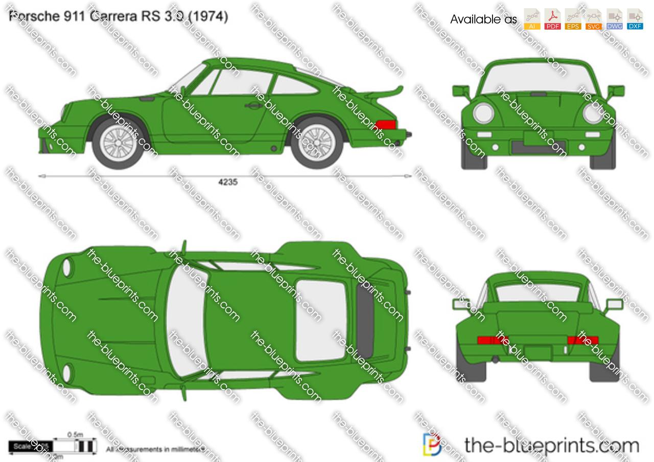 Porsche 911 Carrera RS 3.0 1973