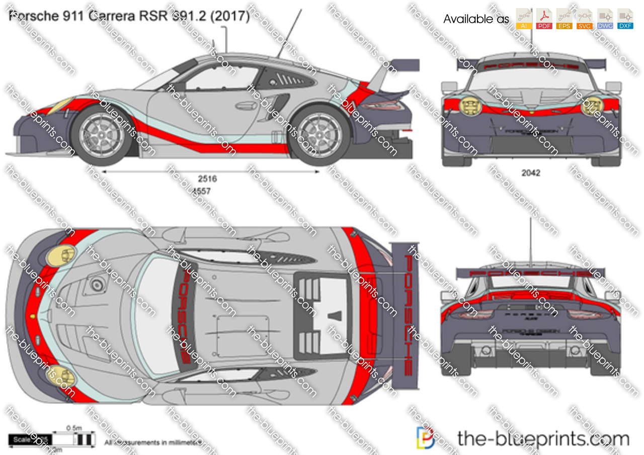 Porsche 911 Carrera RSR 991.2