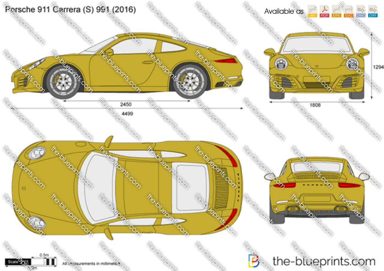 Porsche 911 Carrera (S) 991.2 2015