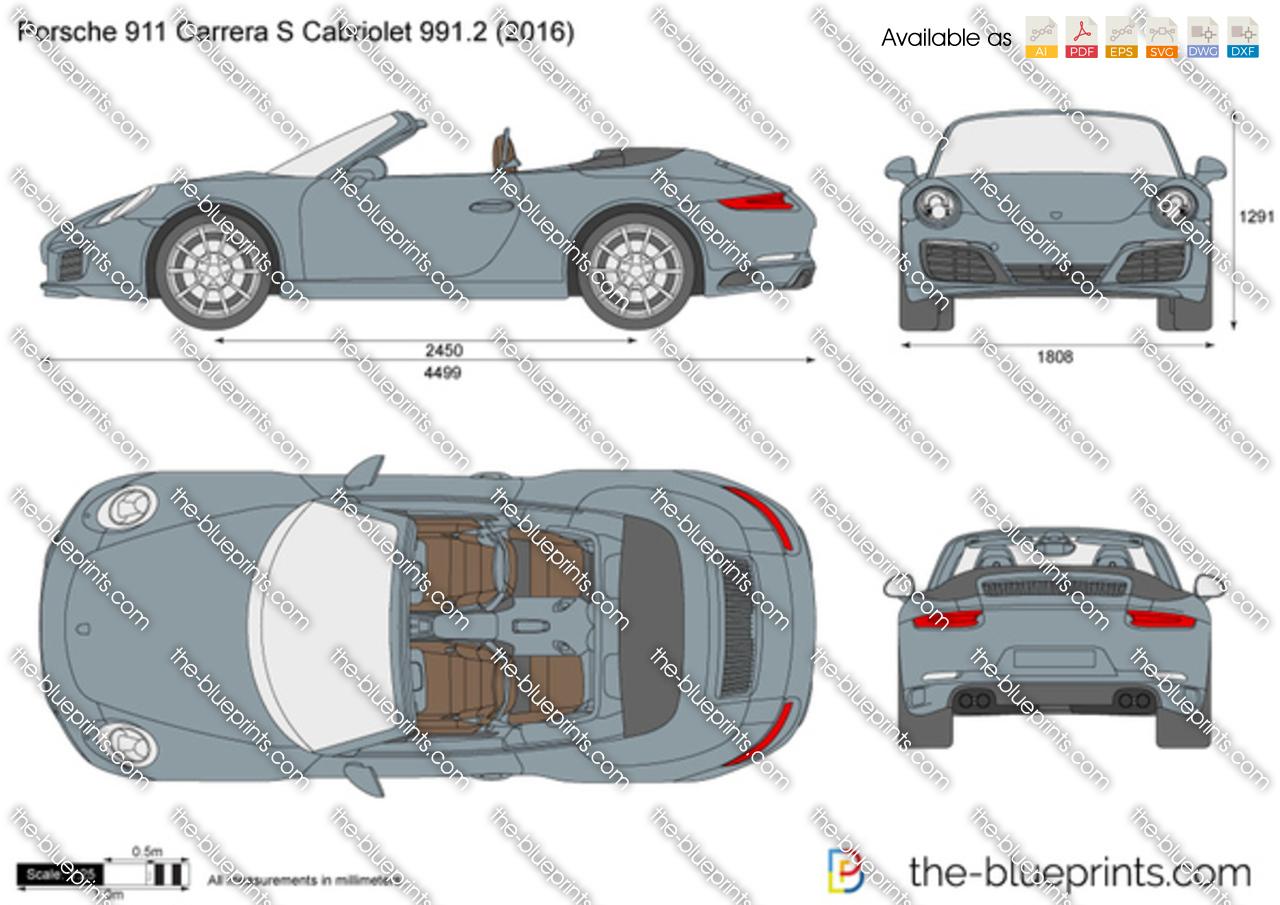 Porsche 911 Carrera S Cabriolet 991.2 2015