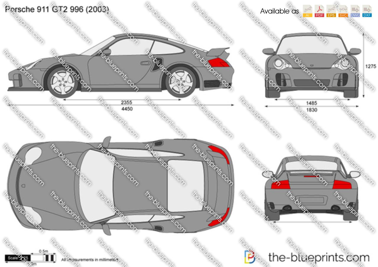 Porsche 911 GT2 996 2004